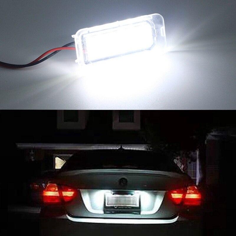 2 шт./лот белый 12V светодиодный номерной знак светильник сигнальные лампы для Ford Focus