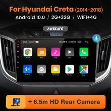 AWESAFE PX9 for Hyundai Creta IX25 2014 2015 2016-2018 Car Radio Multimedia video player GPS No 2din 2 din Android 10.0 2GB+32GB