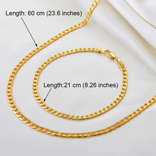 Bracelets-Sets Jewelry Gold-Color African Neckalces Anniyo-Chain Banglet And Women