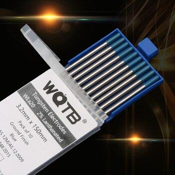2% Lanthanated tungstênio eletrodos WL15 WL20 tig tungstênio haste 1.0 1.6 2.0 2.4 3.0 3.2 4.0 milímetros ouro eletrodos tig para soldagem tig