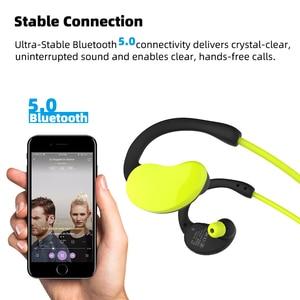 Image 4 - Arikasen sport MP3 Player headphone 32 GB waterproof bluetooth earphone 10 hours time wireless headset with micphone stereo