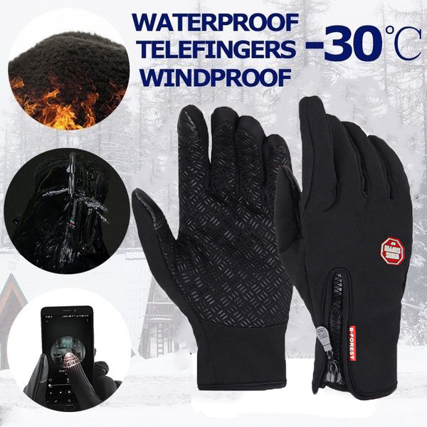 heated gloves snow gloves motorcycle gloves work gloves winter gloves skateboard gloves Waerproof and warm gloves Cycling gloves