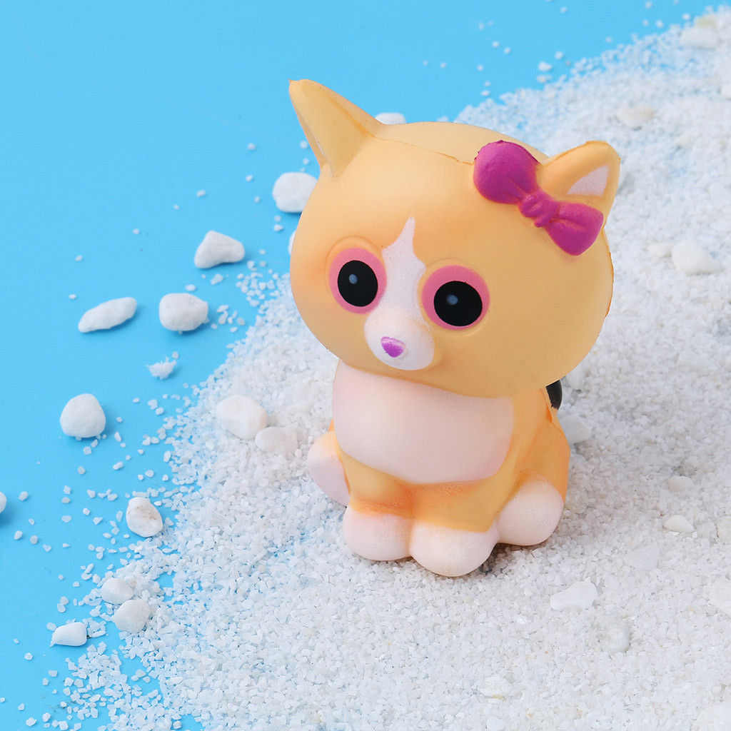Toys For Children Kawaii White Cat Cream Scented Charms Lovely Toy For Stress Relief Toy Decorations Toy Kids Toys Juguetes