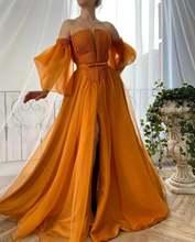Новое платье из органзы с фатиновой юбкой длинные Арабский Вечерние