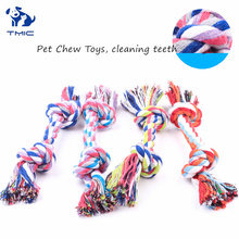 все цены на Interesting Dog Toys Teeth Cleanning Dogs Chew Toys Outdoor Traning Tool for Puppy Toy French Bulldog Fun Rope Ball Pet Supply