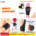 1 PCS Breathable Wrist Support Carpal Tunnel Splint Wrist Brace Protector Arthritis Sprains Strain Sports Wrist Band L679
