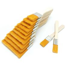 12 Pcs Wooden Oil Painting Brushes Set Artist Acrylic Watercolor Paint Tool