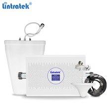 Lintratek 70dB AGC 2100 1800 3G 4G מגבר אות GSM 2G 3G משחזר 900 2100 נייד מאיץ 900 1800 GSM 4G מגבר KW23C