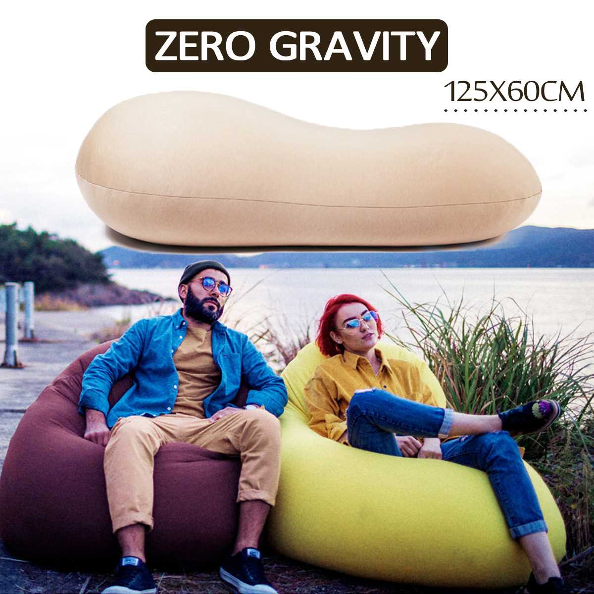 Waterproof Lazy BeanBag Sofas Cover Chairs Without Filler Linen Cloth Adjustable Lounger Seat Bean Bag Pouf Puff Couch Tatami L