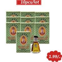 10 pçs vietnã erval tigre bálsamo buda pomada óleo para artrite dor de cabeça dor de dente estômago frio tonturas alívio da dor nas costas
