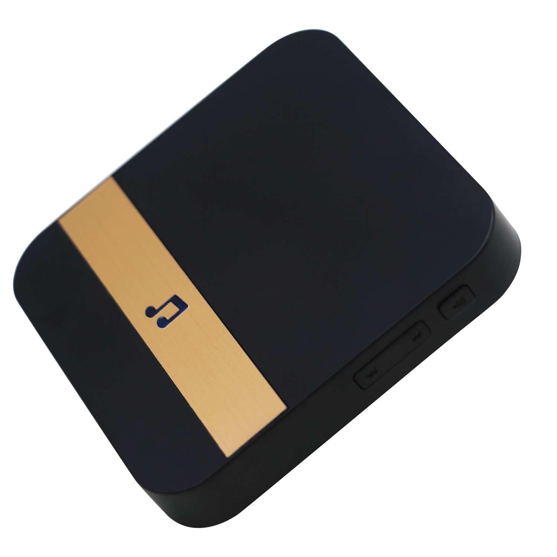 10-110dB 433MHz Black Wireless Wifi Smart Video Doorbell Chime Music Receiver Home Security Indoor Intercom Door Bell Receiver