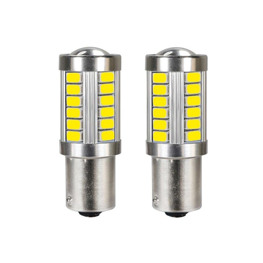 1156 1157 P21/5 Вт BAY15D 33SMD 5630 5730 светодиоды супер яркие стоп-сигналы Противотуманные фары 21/5 Вт Авто дневные ходовые огни стоп-лампы 12 В