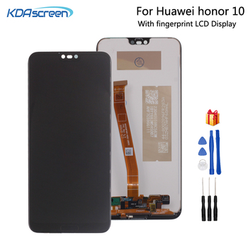 With Fingerprint Original LCD For HUAWEI Honor 10 Display Touch Screen For Huawei Honor 10 Screen LCD Display On Col-L29