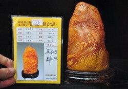 Dekoracje ślubne Tianhuang kamień shoushan ręcznie rzeźbione drzewo klonowe stary posąg człowieka pieczęć pieczęć sygnet