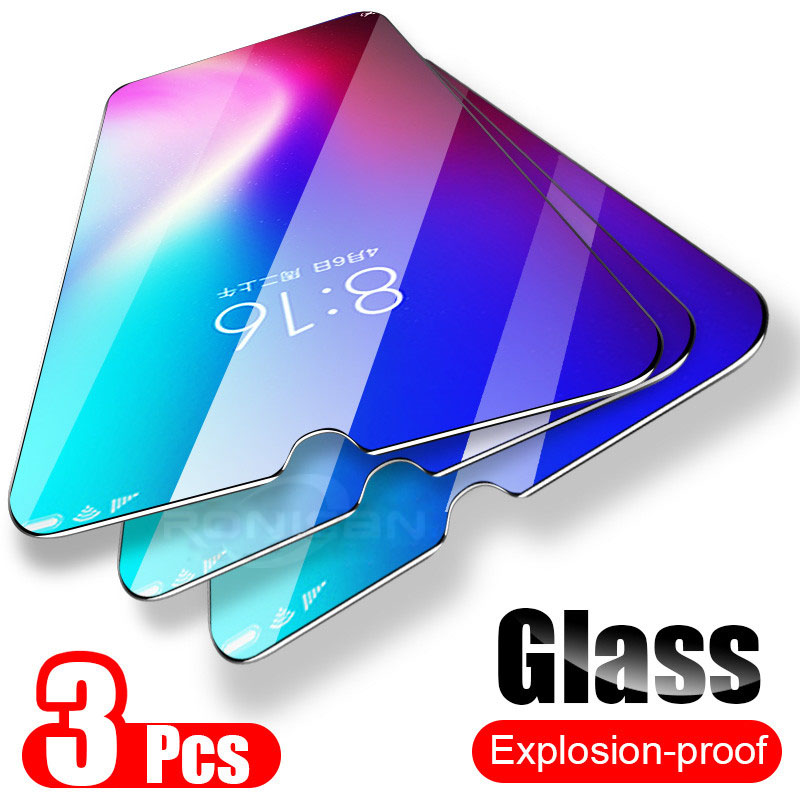 3PCS 9H Tempered Glass For Xiaomi Redmi Note 7 6 Pro 3 Screen Protector Film Glass For Redmi 7 6 6A 5A 4A 3S Protective Glass