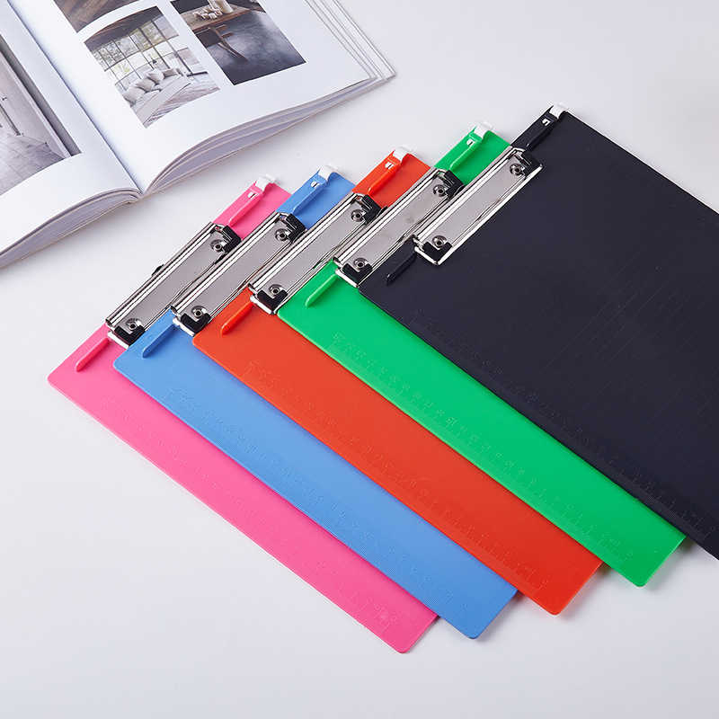 1 PC Kreatif Folder Student Papers WordPad Multifungsi Folder A4 Menulis Papan Folder