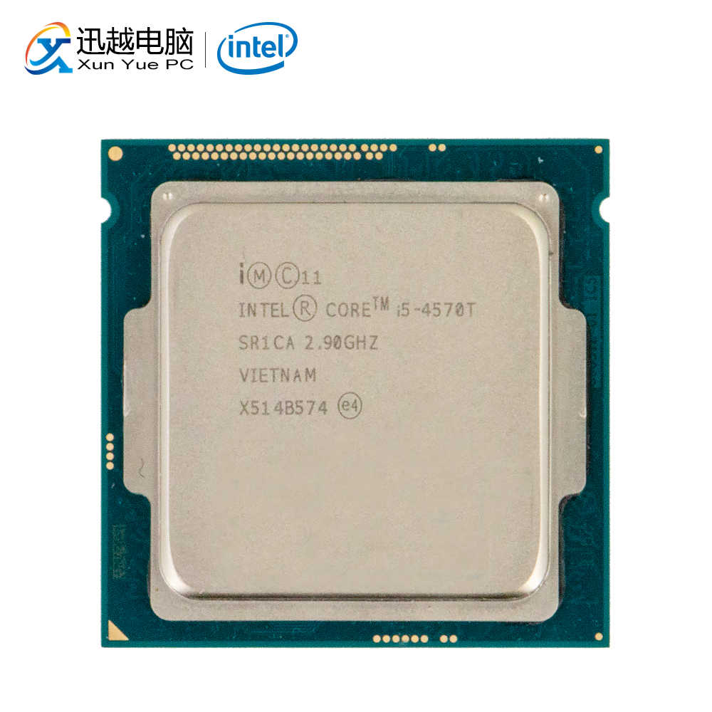 Intel Core i5-4570T Desktop Processor i5 4570T Quad-Core 2.9GHz 6MB L3 Cache LGA 1150 Server Used CPU