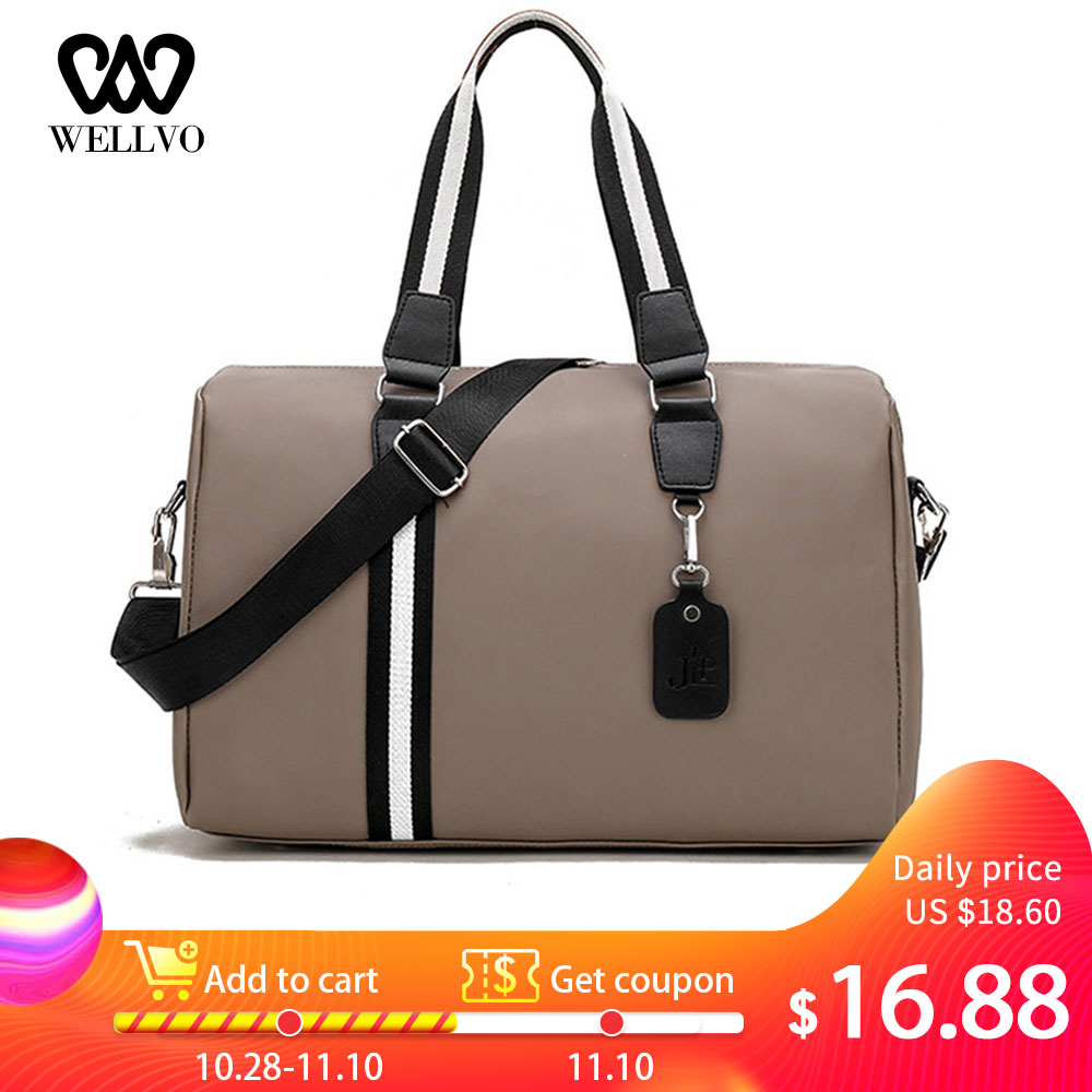 Unisex Nylon Woman Travel Bags Large Handbag Carry On Luggage Weekend Bag Ladies Multifunction Duffle Bag For Men 2019 XA733WB