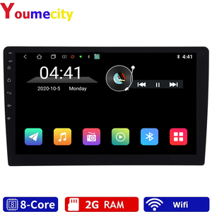 """Image 1 - Eight Core/10.1 """"Android 9.0 Car Multimedia Dvd Video Player Tap PC Tablet GPS Navigation Radio Stereo Bluetooth Wifi  Universal"""