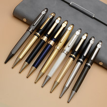 Jinhao Luxury High Quality Twist Wave Pattern Drawing Ink METAL Ballpoint Pen Stationery Office School Supplies New