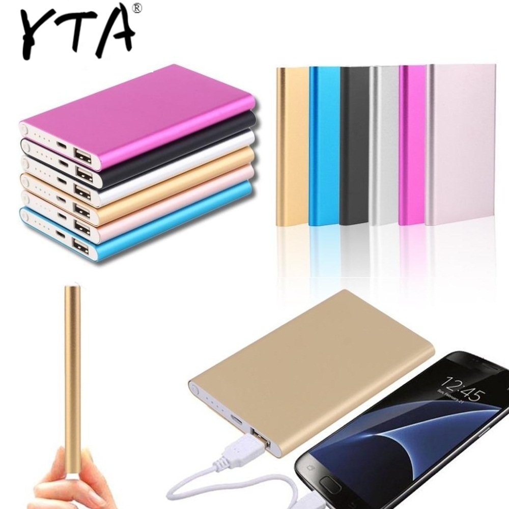 Powerbank Charger Power 12000mah Bank Lowest 18650 External Bank Bateria Portable Slim Backup Battery Ultra