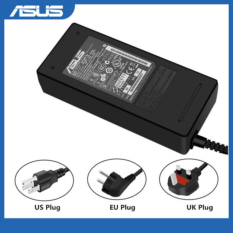 Asus 19V 4.74A 5.5x2.5mm Laptop Charger AC Adapter Power Supply For K52F K52J K53E K53S K53SV K53U K55 K550LA K55A K55N K55VD