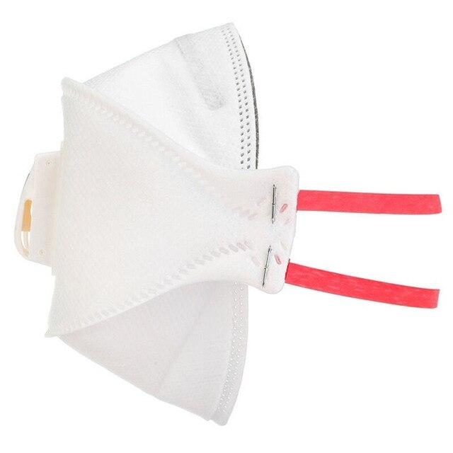3M Aura 9332 Maschere di Efficienza di Filtrazione 99% a Prova di Polvere Maschera Sanitario Con Valvola Usa E Getta 3M Originale Mascarillas in Magazzino 4