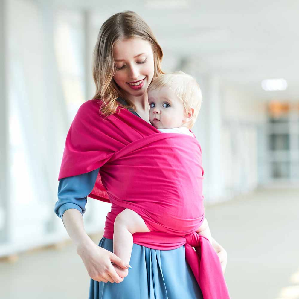 Baby Carrier Sling For Newborns Soft Infant Wrap Breathable Wrap Hipseat Breastfeed Birth Comfortable Nursing Cover