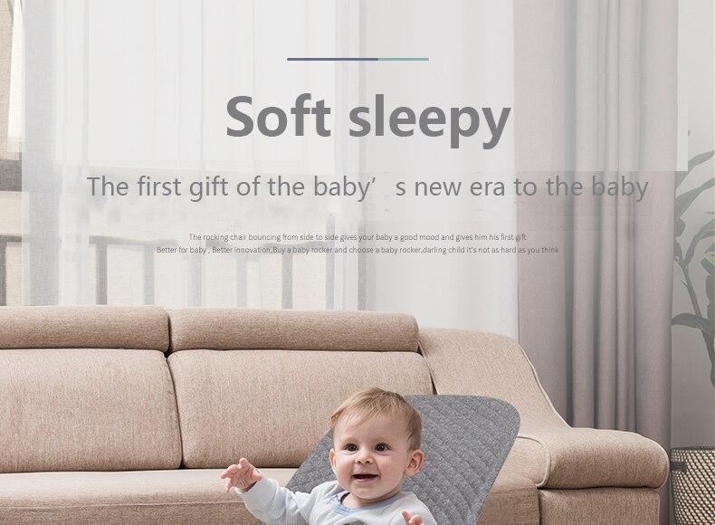 H5e51312235fc40eeb89647bf378b730eW Baby rocking chair sleepy baby artifact comfort baby chair child 0-36 months baby shaker newborn cradle to sleep