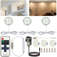 LED Lights Bedroom Cabinet Lights Living Room Kitchen Night Lights Decorative Lights Wireless Remote Control LED Cabinet Lights