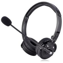 M20 Bluetooth Binaurale headset Mit Mic Noise Reduction Kopfhörer Büro Call Center Kunden Service HD Stimme Anrufen Headset