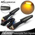 Универсальный светодиодный светильник для мотоцикла, 2 шт.