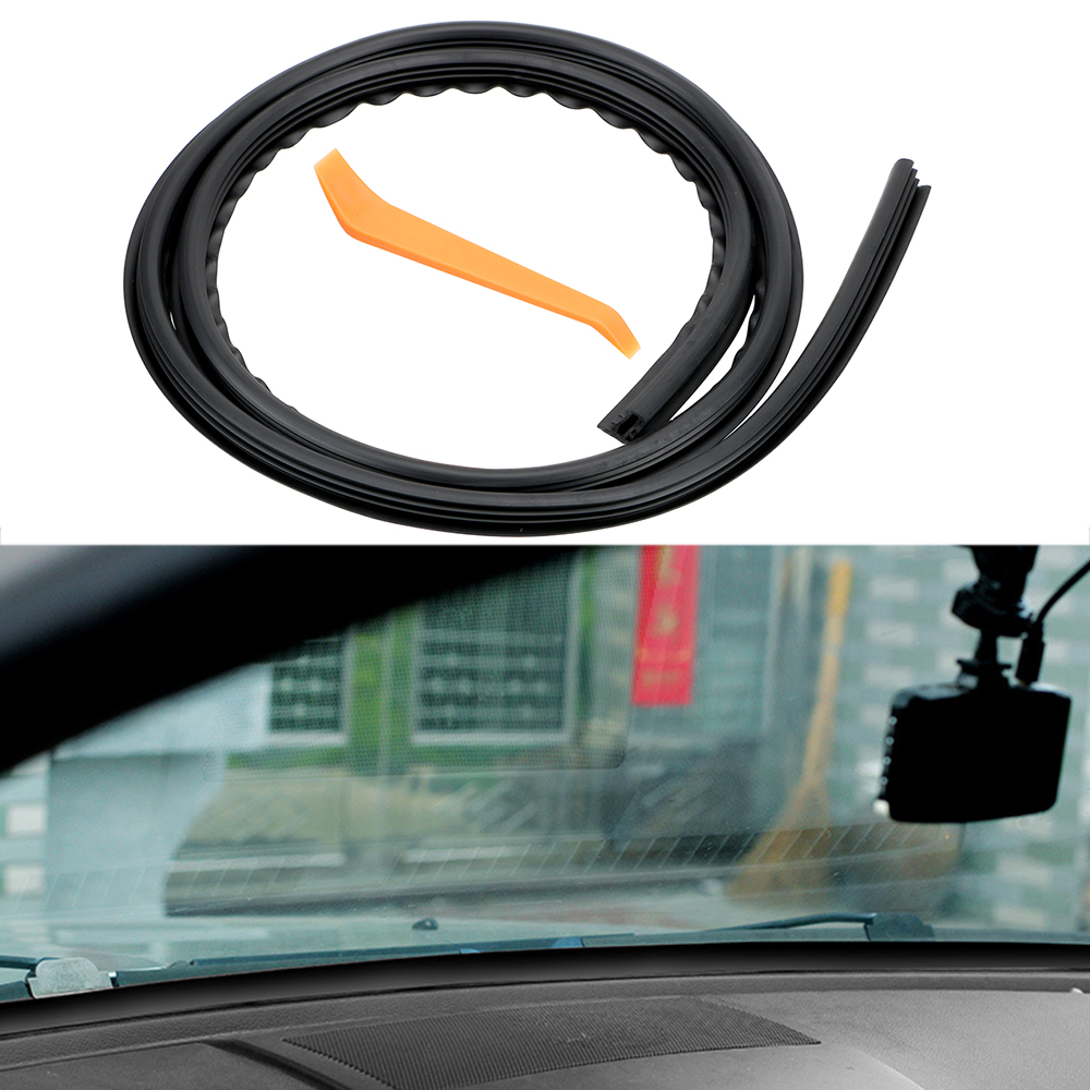 LEEPEE Noise Sound Insulation Rubber Strip Universal Car Stickers Auto Rubber Dashboard Seal Strip Filler Weatherstrip