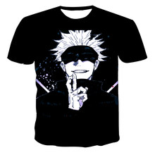 2021 Popular Anime Jujutsu Kaisen Men'S 3D Printed T-Shirts Summer Top Yuji Itadori Graphic T-Shirt Cool Round Neck T-Shirt Men