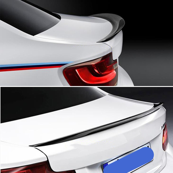 For BMW 2 Series coupe F22 M2 f87 spoiler 2013--2019 year rear wing P style Sport body kit Accessories real carbon fiber