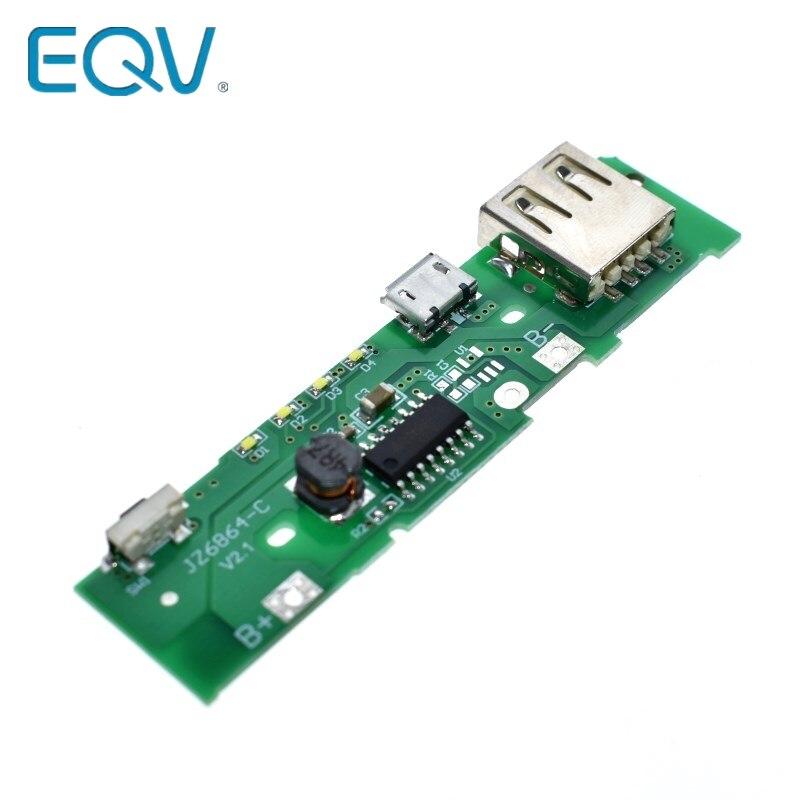 5 v 1a carregador de banco de potência módulo de carregamento placa de circuito step up boost power module para xiaomi mobile power bank diy