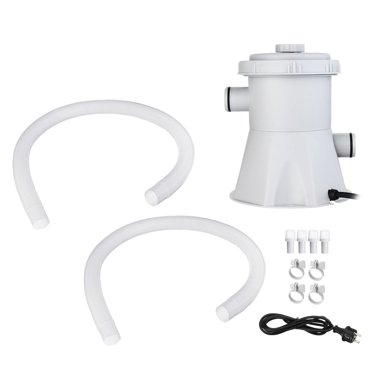 110V Electric Swimming Pool Filter Pump Swimming Pool Pump and Filter Kit Pool Pump Paddling Pool Pump Water|Cleaning Tools| |  - title=