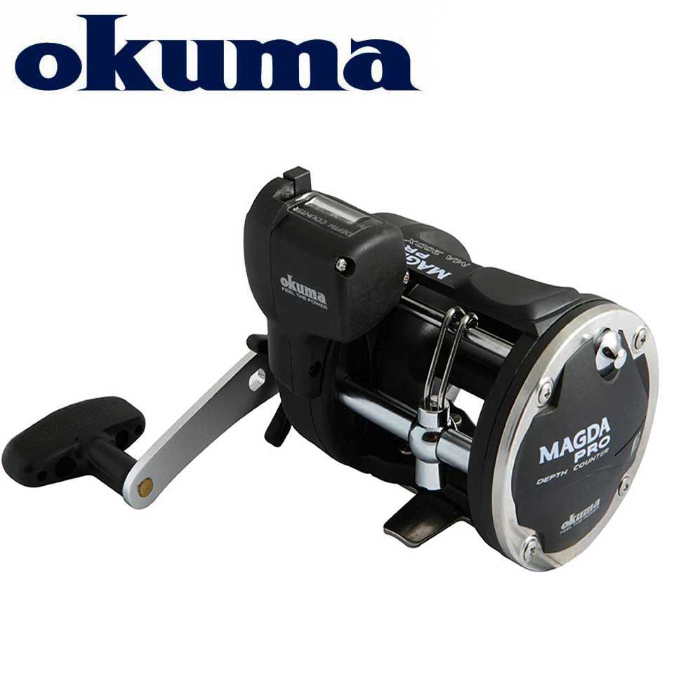 OKUMA Fishing Reel MAGAD  Linecounter DT MA-15DT-T Multirolle Sea Baitcasting Reel