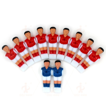 11 Pcs/lot Football Board Games For Kids Kickers Soccer Table Player Plastic Accessories Doll Mini-foosball-table