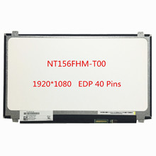 Free shipping 15.6''inch NT156FHM-T00 NT156FHM T00 Laptop LCD Touch Screen 1920*1080 EDP 40 pins Touch Lcd Display Replacement(China)