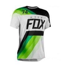 2021 Moto Bicycle Jersey Long Sleeve Cycling Enduro Mtb Shirt Downhill T-shirt Camiseta Motocross Mx Mountain Bike Clothing Fox