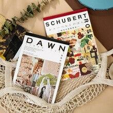 5setss/lot Kawaii Stationery Stickers Fresh retro DIY Craft Scrapbooking Album Junk Journal Happy Planner Diary Stickers