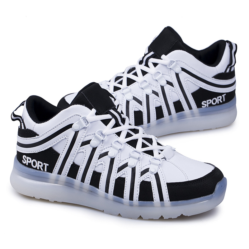 Size 35-46 Lighted Led Shoes For Children Boys Girls Large Size Glowing Luminous Sneakers With Lights Couple Led Shoes For Adult