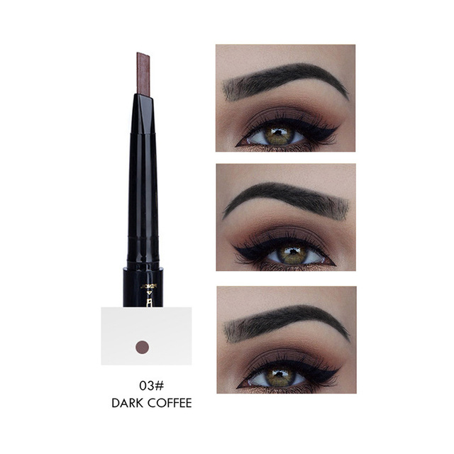 Hot 5 Colors Eyebrow Pencil Eye Brow Tint Cosmetics Natural Long Lasting Paint Tattoo Eyebrow Waterproof Black Brown Makeup Set 3