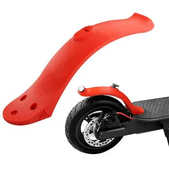 Scooter Rear Fender Mudguard Fender Guard With Taillight and Hook For Xiaomi Mijia M365 Electric Scooter Replacement Accessories