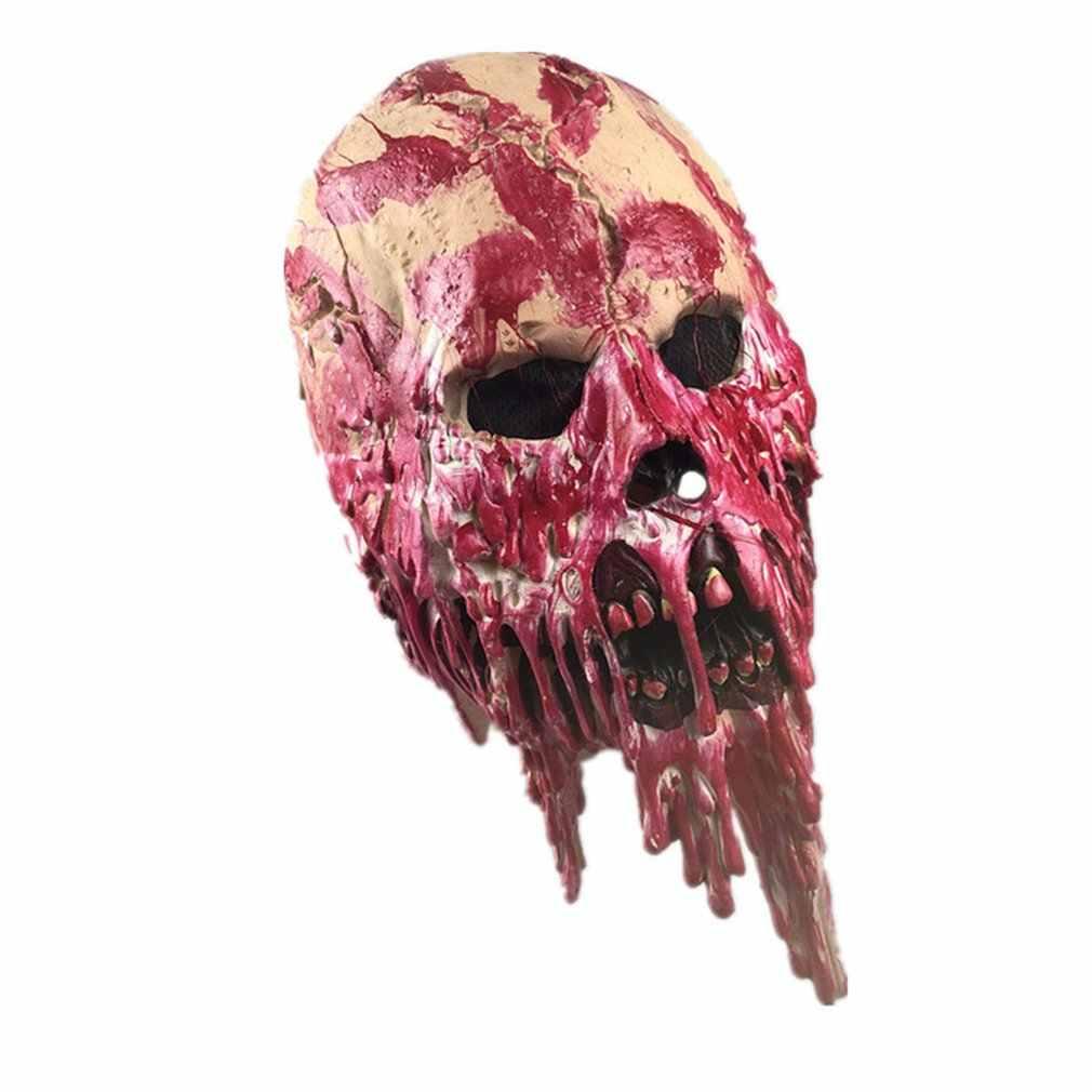 Дом с привидениями капельная кровяная гнить латексная маска для хеллоуина Скорпион призрак детектива зомби ходячие мертвые зомби-Дьявол маска