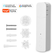 Tuya WIFI M515EGWT Intelligent Pull Bead Curtain Motor Smart Motorized Chain Roller Blinds Compatible with Alexa Google Home