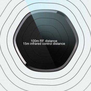 Uniwersalny pilot na podczerwień pilot zdalnego sterowania inteligentny strona główna Wifi inteligentny pilot do TV Set-Top Box pilot zdalnego sterowania tanie i dobre opinie Klimatyzator Komputer Audio wideo odtwarzacze Głośnik Oświetlenie Zautomatyzowane zasłony NONE CN (pochodzenie) 433 mhz