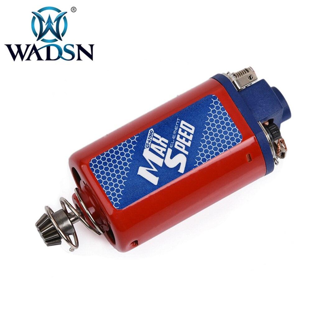 WADSN Airsoft AEG vitesse maximale moteur court Type pour AK47/AUG/Thompson tactique vitesse maximale moteur WIN0916 tir Paintball accessoire