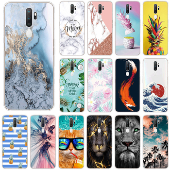 For OPPO A5 A9 2020 A11x Soft TPU Case For OPPOA5 OPPOA9 A 5 9 11x Phone Cases 6.5 Transparent Silicone Back Cover Coque Fundas image